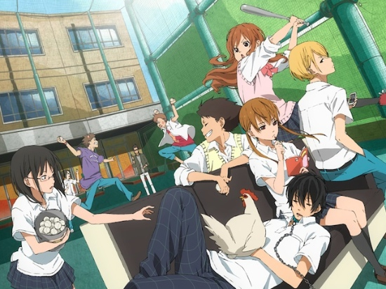 Oshima, Haru, Shizuku, Yamaken, Natsume, Sasayan